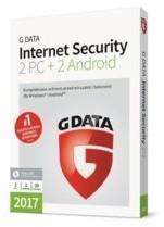 GData Internet Security 2 PC + 2 Android 20 miesięcy)