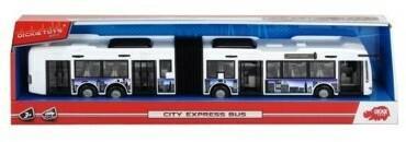 Dickie Autobus City Express 46 cm biało-niebieski WNDCKI0UC045815
