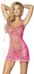 Let's Duck Koszulka + stringi Summer Secret Pink