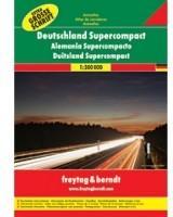 Freytag&berndt Niemcy atlas 1:300 000 Freytag & Berndt - Freytag & Berndt