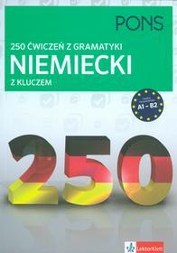 Pons 250 ćwiczeń z gramatyki Niemiecki z kluczem - LektorKlett