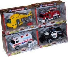 Dickie Małe pojazdy ratunkowe 4 rodz. SI-9113577