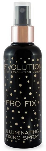 Makeup Revolution Pro Fix Illuminating Fixing Spray Rozświetlający utrwalacz makijażu w sprayu 100ml 1234592603