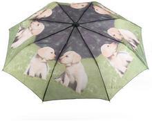 """Blue Drop Parasol damski składany krótki \""""Małe Labradory"""" ART A894DC malelabradory"""