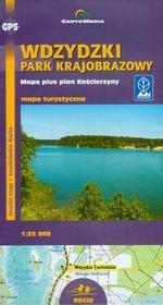Cartomedia Wdzydzki Park Krajobrazowy Mapa turystyczna 1:25 000 - CartoMedia