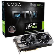 EVGA GeForce GTX 1070 FTW Gaming VR Ready