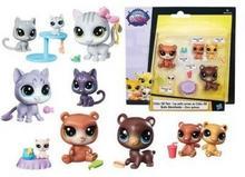 Hasbro Littlest Pet Shop Rodzina zwierzaków mix wzorów B9673