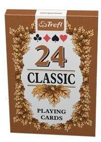 Trefl Karty Classic 24 Listki K10245