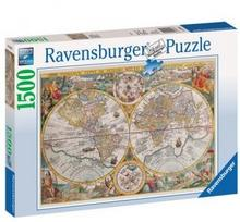 Ravensburger RAVEN. 1500 HISTORYCZNA MAPA ŚWIATA PR-163816