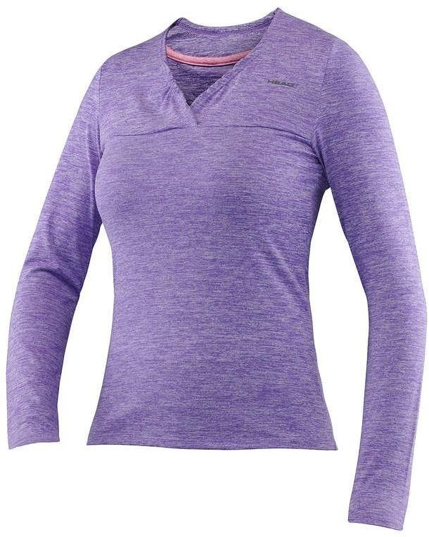 Head Transition W T4S LS Shirt - violet 814476-VI
