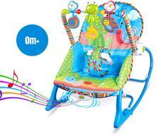 iBaby Bujak leżak fotelik 3w1 + zabawki iBaby 68110 5902921968191