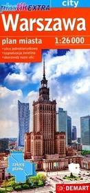 Demart Warszawa 1:26 000 plan miasta laminowany - Demart
