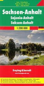 Freytag&Berndt Niemcy część 10 Saksonia-Anhalt mapa 1:200 000 Freytag & Berndt