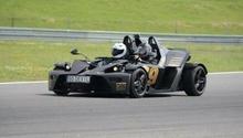 Jazda bolidem KTM XBOW kierowca Tor Kielce 1 okrążenie