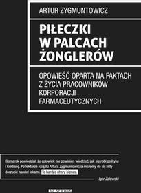Stapis Piłeczki w palcach żonglerów Artur Zygmuntowicz