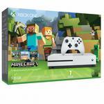 Microsoft Xbox One S 500GB Biały + Minecraft