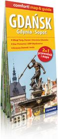 ExpressMap Gdańsk, Gdynia, Sopot, 2 w 1, Przewodnik + laminowane plany miast w skali 1:26 000 - Praca zbiorowa