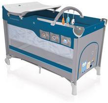 Baby Design Dream łóżeczko turystyczne szaro niebieski 03 wysyłka 24h Enova33321