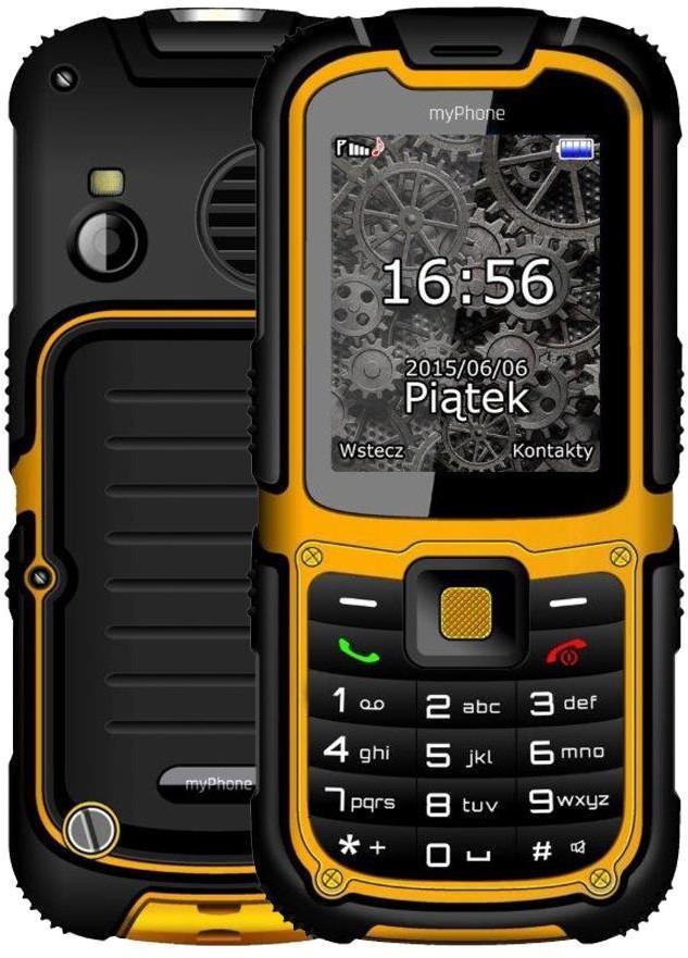 myPhone Hammer 2+ Żółto-czarny