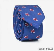 Krawat MOTORBIKES BLUE