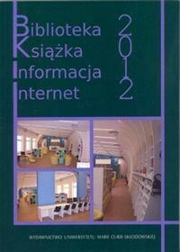 UMCS Wydawnictwo Uniwersytetu Marii Curie-Skłodows Biblioteka książka informacja Internet