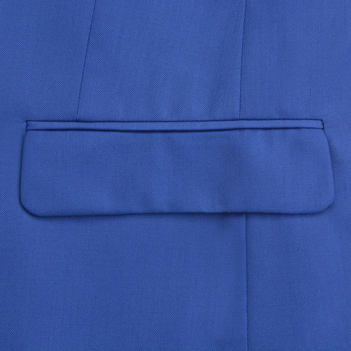 6612463de20e2c vidaXL Garnitur męski dwuczęściowy, błękitny, rozmiar 48 – ceny ...
