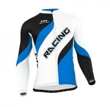 FDX Bluza rowerowa męska FDX Cycling Long Sleeve Jersey L FDX_1230_BLUE#3