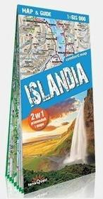 zbiorowa Praca Comfort! map & guide. Islandia 2w1 w.2018 / wysyłka w 24h