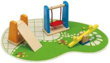 HaPe PLAC ZABAW drewniane akcesoria dla lalek HP 3461