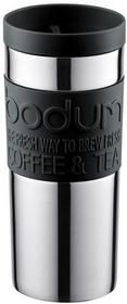 Bodum 1109301Travel Mug kubek, 0.35L, na podróż ze stali nierdzewnej 8.5x 8.5x 18cm 11093-01