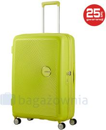 Samsonite AT by Duża walizka AT SOUNDBOX 88474 Limonkowa - limonkowy