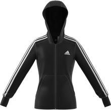 Adidas bluza YG 3S Full Zip Hoodie Black/White 164