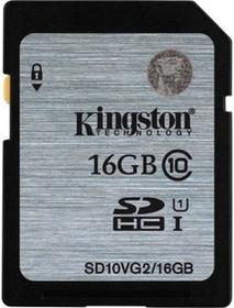 Kingston SDXC Class 10 UHS-I 16GB