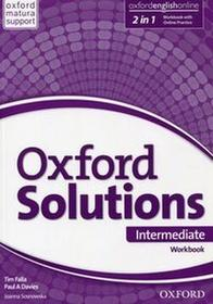 Oxford Oxford Solutions Intermediate Workbook with Online Practice - Tim Falla, Davies Paul A.