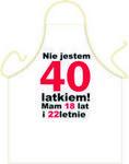 Fartuszek Urodzinowy 40 dla Niego Fur40