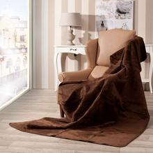Dekoria Koc Cotton Cloud 150x200cm Dark Brown 150x200cm 760-95