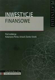 CeDeWu Inwestycje finansowe