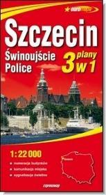 zbiorowa Praca Szczecin, świnoujście, police. plan miasta. 1:22 000 / wysyłka w 24h