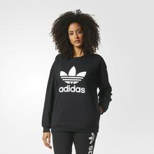 Adidas BLUZA Z DL. REKAWEM BLACK TREFOIL SWEAT