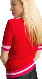 Pinko Bacchette Sweater Czerwony S (183341)