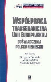 Współpraca transgraniczna Unii Europejskiej. Doświadczenia polsko-niemieckie - SCHOLAR