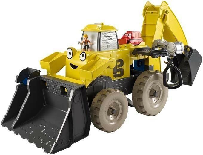 Mattel BOB Mega koparka - zestaw 2w1
