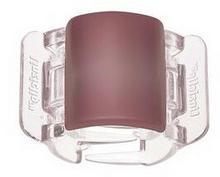 Linziclip Midi Matt Raspberry-Pink-Clear Klamra do włosów