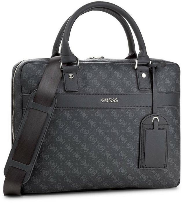 2577bf76840ce Guess Torba na laptopa Uptown Logo HM6210 POL74 Blu – ceny