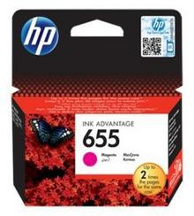 HP Nr 655 CZ111AE Orginalny czerwony