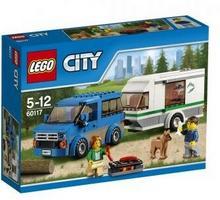 LEGO City Van z przyczepą kempingową 60117