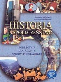 Małkowski Tomasz, Rześniowiecki JacekHistoria sp kl 5. podręcznik podróże w czasie