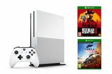 Microsoft Xbox One S 1TB Biały + Forza Horizon 4 + Red Dead Redemption 2