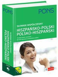 Pons Słownik współczesny hiszpańsko-polski polsko-hiszpański - LektorKlett