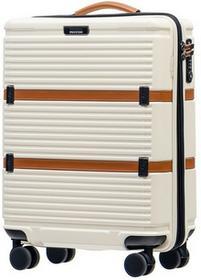 Puccini Mała kabinowa walizka OCFORD PC023C 8 Biała - biały PC023C 8